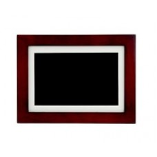 Nexxt Solutions Connectivity Photo Frame - 8in touch dis cherry