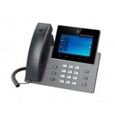 TELEFONO IP ANDROID DE VIDEOCONFERENCIA GIGABIT CON 16 CUENTAS SIP, PANTALLA TACTIL CAPACITIVA 5 PULGADAS, AUDIO HD, WIFI DOBLE BANDA, BLUETOOTH