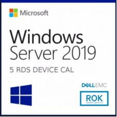 5-PACK  RDS DISPOSITIVO 2019 MICROSOFT 623-BBDC - 5