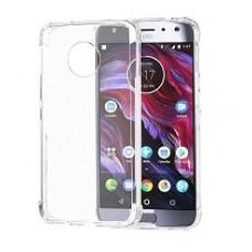 MUVIT MMCRS0017 - Case - Durable plastic - Transparent - para Motorola Moto X4