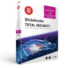 Bitdefender Total Security BITDEFENDER TMBD-104 - 1 Año(s)