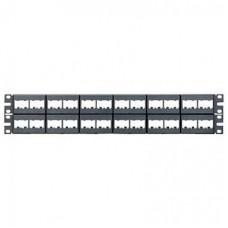 Panel de parche de 48 puertos modular - CPP48WBLY, PANDUIT (NO ARMADO)