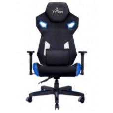 Silla Gaming Yeyian YFC-ECFL-01-BL - Gamer, Negro/Azul