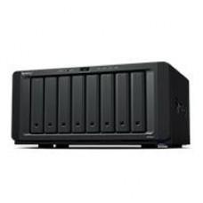 NAS SYNOLOGY DS1821+/ 8 BAHIAS AMPLIABLES HASTA 18/NUCLEO CUADRUPLE 2.2GHZ/4GB DDR4 AMPLIABLE A 32GB/LAN GIGABIT X4/USB 3.2 X4 /HOT-SWAP/SOPORTA M.2 2280 NVME/ NO INCLUYE DISCOS