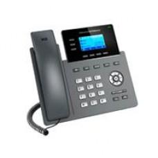 TELÉFONO IP 2 PUERTOS DE RED GIGABIT (10/100/1000), PANTALLA LCD RETROILUMINADA DE 132X64, GESTIÓN Y APROVISIONAMIENTO DESDE LA NUBE CON GDMS, SOPORTE DE ELECTRONIC HOOK SWITCH (EHS). POE.