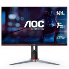 MONITOR LED GAMER AOC IPS 24 / ENTRADAS HDMI / VGA / DISPLAYPORT / ASPECTO 16:9 / TIEMPO DE RESPUESTA 1 MS / AMD FREE SYNC / 144 HZ / RESOLUCIÓN 1920 X 1080 / BRILLO 250 CD/M2 / VESA 100MM X 100MM