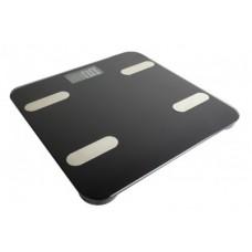 Báscula inteligente BT PC-270096 Registra y grafica tus datos: Peso - IMC, grasa corporal, agua corporal, músculo esquelético y TMB.