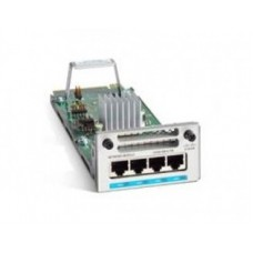 Módulo de red Cisco C9300-NM-4M= - compatible únicamente con serie Catalyst 9300, 4 miltigigabit (no incluye transceivers)