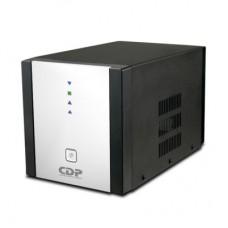 Regulador de Voltaje AVR 2408 - 2400VA/1200W. Monofásico, Voltaje nominal de 120VCA, Rango de frecuencia 50/60Hz, 8 contactos tipo NEMA 5-15R (reguladas y c