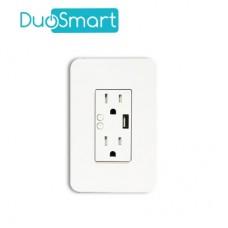Contacto Tomacorriente  DuoSmart A60 - Wi-Fi, Blanco