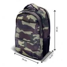 Backpack Warrior TECHZONE TZ20LBP01-CAMOU - Mochila