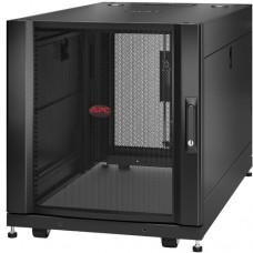 APC NETSHELTER SX 12U SERVER RACK ENCLOSURE 600MM X 1070MM W