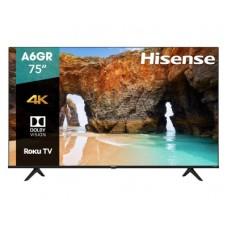 Tv Hisense 75A6GR - 75 pulgadas, LED 4K UHD, 3840 x 2160, Roku