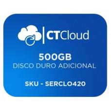 Servidor Virtual en la Nube CT Cloud NCST500 - Servicio de Nube, Servidor Virtual, 500 GB