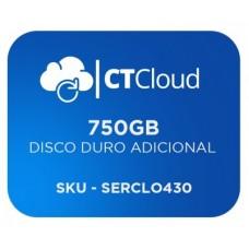 Servidor Virtual en la Nube CT Cloud NCST750 - Servicio de Nube, Servidor Virtual, 740 GB