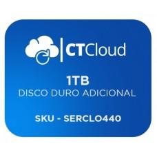 Servidor Virtual en la Nube CT Cloud NCST1000 - Servicio de Nube, Servidor Virtual, 1 TB