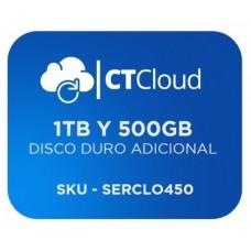 Servidor Virtual en la Nube  CT Cloud NCST1500 - Servicio de Nube, Servidor Virtual, 1tb y 500gb