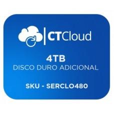 Servidor Virtual en la Nube CT Cloud NCST4000 - Servicio de Nube, Servidor Virtual, 4 TB