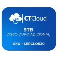 Servidor Virtual en la Nube CT Cloud NCST9000 - Servicio de Nube, Servidor Virtual, 9 TB