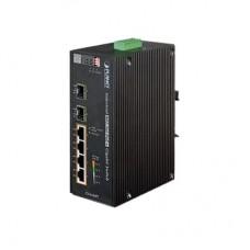Switch industrial de 4 puertos HIGHPOE 1000T + 2 puertos SFP 1000X