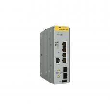 Switch Industrial Administrable Capa 2 de 4 Puertos 10/100/1000 Mbps + 2 Puertos SFP