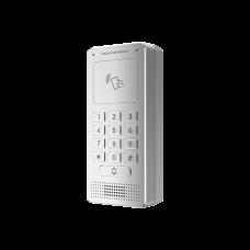 Audioportero IP (SIP), Antivandálico, apertura por código, llamada y/o tarjeta, teclado iluminado