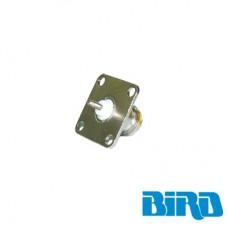 Conector N Hembra de Cambio Rápido / Wattmetro BIRD 43, 4304, 4 perforaciones a 18 mm.