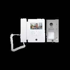 Kit de VideoPortero YDV4702: Frente de Calle y Monitor/ Hasta  16 Monitores/ Función Guardia