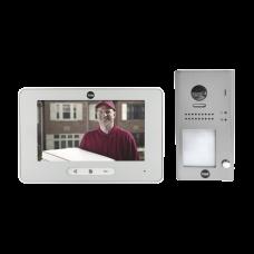 Kit de VideoPortero Manos libres: Frente de Calle y Monitor/ Hasta 16 Monitores / 2 Hilos