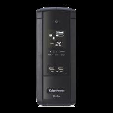 UPS Con 5 Años de Garantía de 1000VA / 600W Con Pantalla LCD Inteligente, Regulador de Voltaje AVR, 10 Conectores NEMA 5-15R y 2 Puertos USB 2.1A Para Carga de Celular