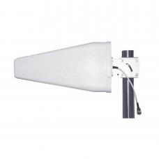 Antena logarítmica de 11 dBi de Ganancia, Rangos de Frecuencia 698-960 MHz / 1710-2700 MHz