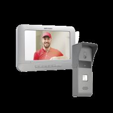 Kit de Videoportero Analógico con Pantalla LCD a Color de 7