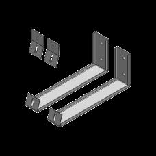 Ángulos para soportar Panel Solar en Pared (Uso solo para Exhibición).