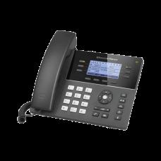 Teléfono IP WiFi Gama media de 6 Líneas con 4 teclas de función, 24 teclas de extensión BLF digital y conferencia de 5 vías PoE