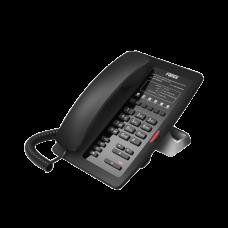Teléfono IP para Hotelería, profesional con 6 teclas programables para servicio rápido (Hotline), plantilla personalizable con PoE