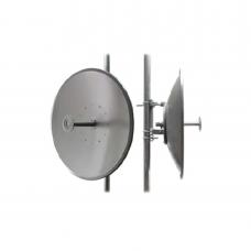 Antena para enlaces Carrier Class Polaridad Sencilla, Frec. 4.9 - 5.9 GHz Ganancia 32 dBi,