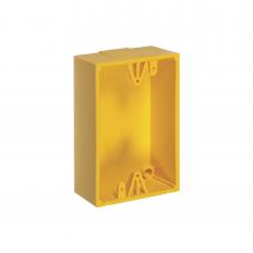 Caja de Montaje Color Amarillo para Botones de Emergencia STI
