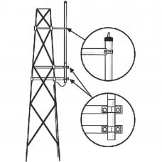 Kit para Montaje Lateral en Torre, Antenas UHF Serie HD Hustler