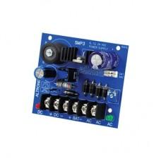 Fuente Tipo Tablilla para Alimentación con Respaldo de Batería con Voltaje Seleccionable en 6,12 Y 24Vcd a 2.5A