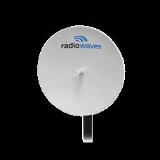 Antena Profesional de 3ft, Garantía de 7 años, 5.925-6.425 GHz, Soporta todo tipo de intemperie