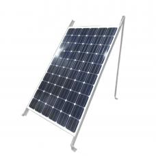 Montaje de Piso para 1 Módulo Solar (Ver compatibilidad). Galvanizado Electrolítico.