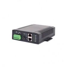 Controlador Solar POE, Entrada 12 Vcd hasta un panel solar de 125 Watts, Salida PoE pasivo en 48 Vcd hasta 20 Watts mximo.