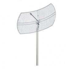 Antena 5.7 - 5.8 GHz Rejilla Ganancia 30 dBi Dimensiones 90 x 60 x 38 cm / Peso 4.5 kg
