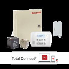 Kit de Panel de Alarma VISTA48LA con Comunicador GSM LTEXA, Transformador y Bateria