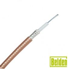 Cable RG142BU con blindaje de doble malla con baño de plata 96%, aislamiento de TFE teflón