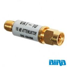 Atenuador 10 dB, 1 W, Conectores SMA Macho-Hembra, CD-6 GHz.